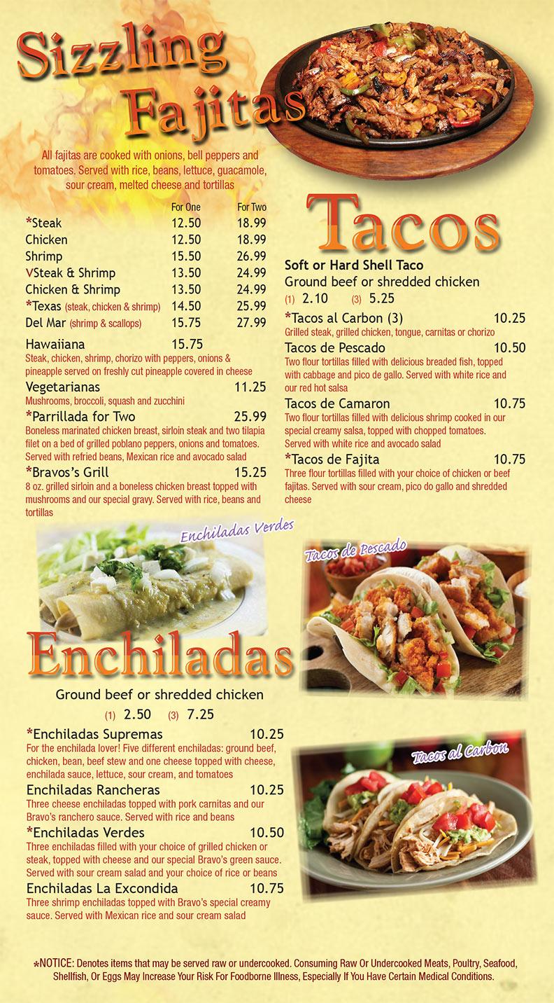 Fajitas-Tacos